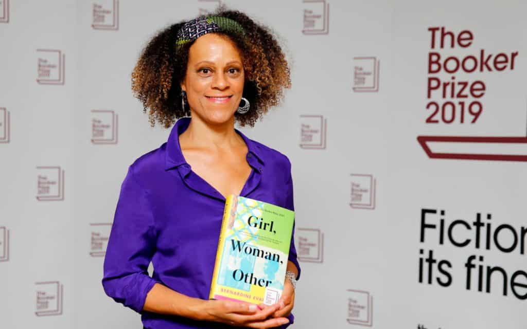 With Girl, Woman, Other, Bernardine Evaristo has won the Booker Prize for the first time CREDIT: BOOKER PRIZE