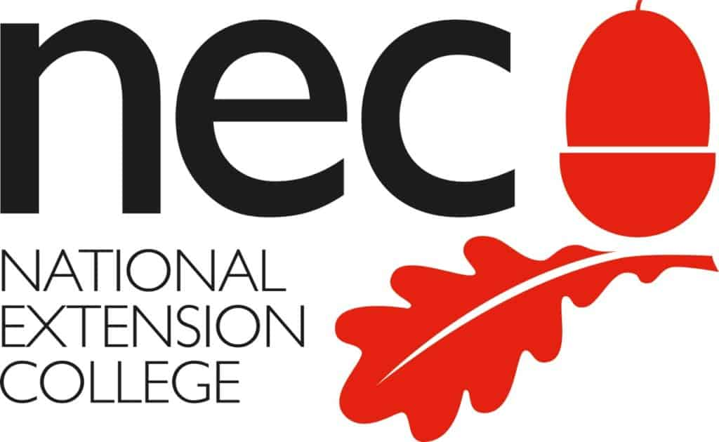 National Extension College logo 2020